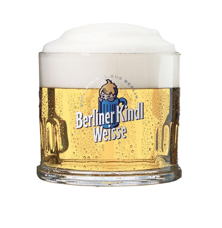 Bicchiere / Tub Berliner Kindl Weisse