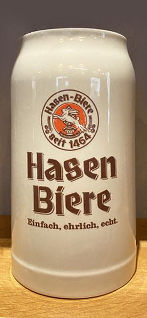 Boccale in Ceramica Hasen Bräu