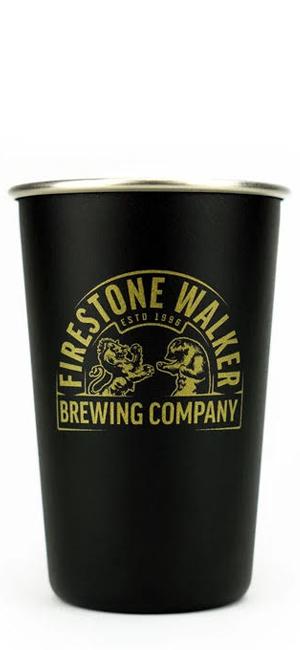 Firestone Walker Bicchiere Metallico
